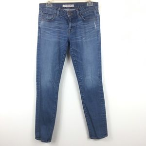 J Brand Jeans Skinny Medium Was Distressed